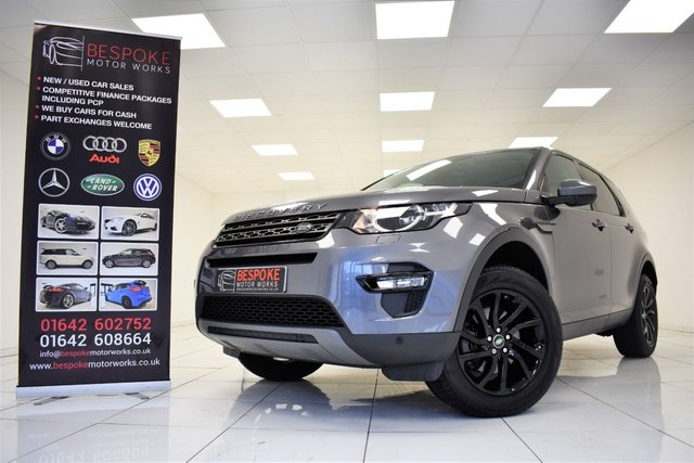 2017 17 LAND ROVER DISCOVERY SPORT 2.0 TD4 SE TECH 5 DOOR 180 BHP