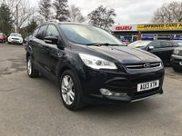 2013 FORD KUGA 2.0 TITANIUM X TDCI 5d 138 BHP FULL SERVICE HISTORY WITH 7 SERVICE STAMPS IN LOVELY CONDITION WITH GREAT SPEC INCLUDING A FULL LEATHER INTERIOR. £8799.00