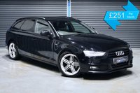 USED 2013 13 AUDI A4 2.0 TDI AVANT BLACK EDITION  ** WE ARE OPEN, VIDEOS, PICS, FREE DELIVERY, JUST CALL :) **