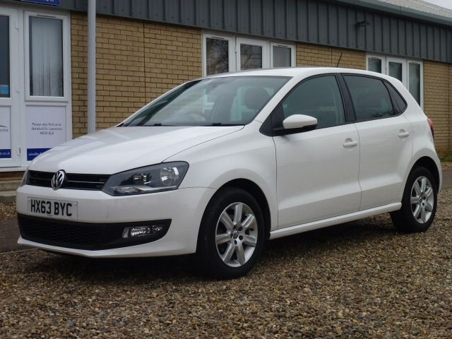 2013 63 VOLKSWAGEN POLO 1.2 MATCH EDITION 5d 69 BHP