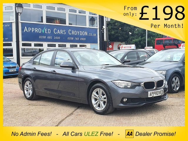 USED 2017 66 BMW 3 SERIES 2.0 320D ED PLUS 4d 161 BHP SAT NAV BLUETOOTH, SENSORS, HEATED LEATHER SEATS