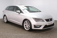 USED 2014 14 SEAT LEON 2.0 TDI FR TECHNOLOGY 5DR SAT NAV 184 BHP FULL SERVICE HISTORY + £30 12 MONTHS ROAD TAX + HALF LEATHER SEATS + PANORAMIC ROOF + SATELLITE NAVIGATION + PARKING SENSOR + BLUETOOTH + CRUISE CONTROL + CLIMATE CONTROL + MULTI FUNCTION WHEEL + PRIVACY GLASS + DAB RADIO + ELECTRIC WINDOWS + ELECTRIC/HEATED MIRRORS + 18 INCH ALLOY WHEELS