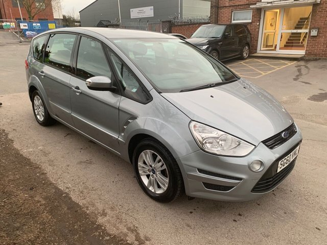 USED 2010 60 FORD S-MAX 2.0 ZETEC TDCI 5d 138 BHP MANUAL DIESEL 7 SEATER SERVICE HISTORY, ALLOY WHEELS, PARK SENSORS, HEATED WINDSCREENS, RADIO/CD, CLIMATE CONTROL, AIR CONDITIONING