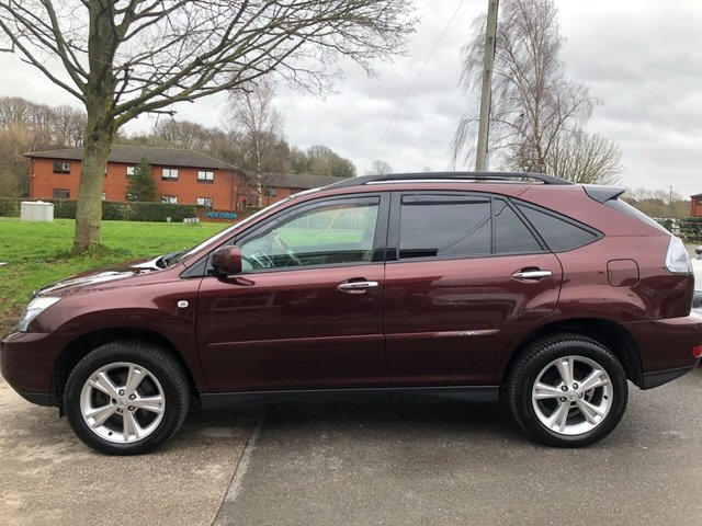 USED 2008 58 LEXUS RX 3.3 400H SE-L CVT 5d 208 BHP ELECTRIC HYBRID SERVICE HISTORY, ALLOY WHEELS, HYBRID, LEATHER INTERIOR, CLIMATE CONTROL, CRUISE CONTROL