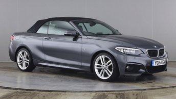2015 BMW 2 SERIES 2.0 220D M SPORT 2d 188 BHP