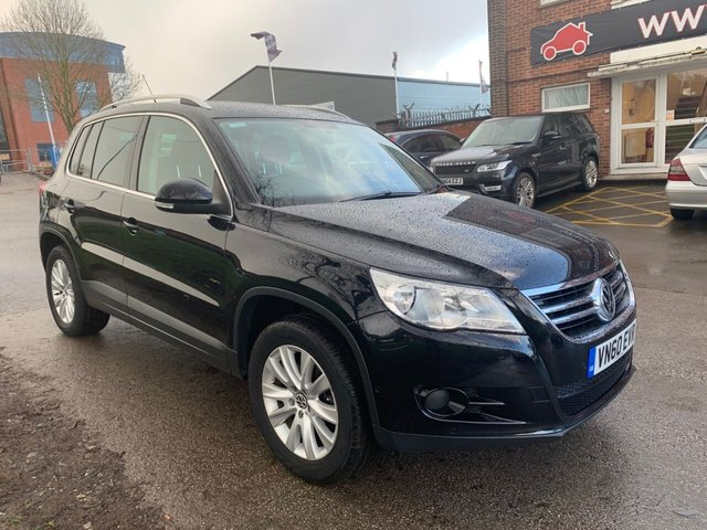 USED 2010 60 VOLKSWAGEN TIGUAN 2.0 MATCH TDI 4MOTION 5d 138 BHP SERVICE HISTORY, ALLOY WHEELS, PARK SENSORS, RADIO/CD/AUX/USB, CLIMATE CONTROL, CRUISE CONTROL