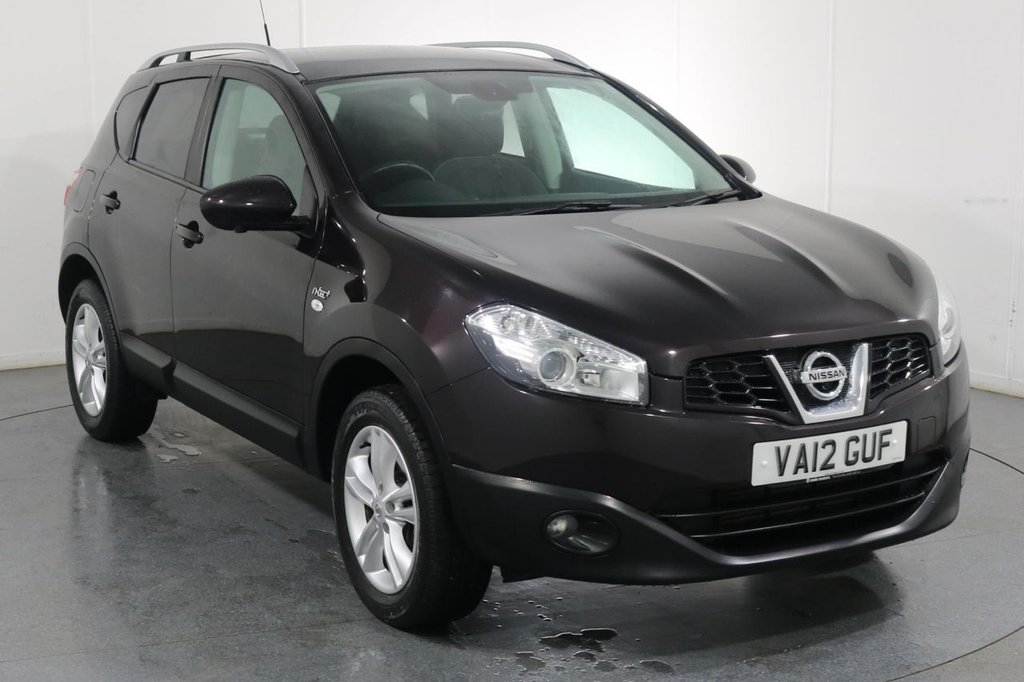 USED 2012 12 NISSAN QASHQAI 1.5 N-TEC PLUS DCI 5d 110 BHP 2 OWNERS with 8 Stamp SERVICE HISTORY