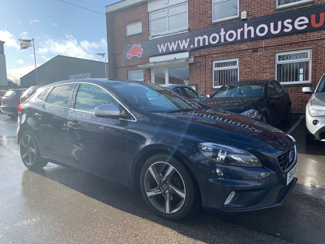 USED 2014 14 VOLVO V40 1.6 D2 R-DESIGN 5d 113 BHP DIESEL SERVICE HISTORY, ZERO ROAD TAX, ALLOY WHEELS, LEATHER INTERIOR, RADIO/CD/AUX/USB, CLIMATE CONTROL, CRUISE CONTROL