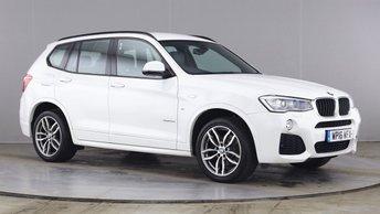 2016 BMW X3 2.0 XDRIVE 20D M SPORT 5d 188 BHP £19790.00