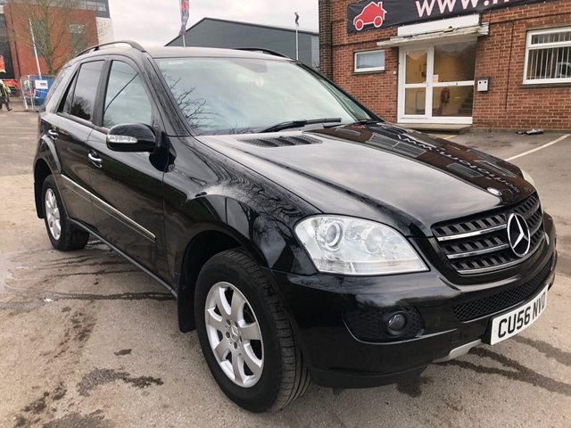 USED 2006 56 MERCEDES-BENZ ML 280 MASSIVE SPEC + SERVICE HISTORY