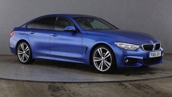 2015 BMW 4 SERIES GRAN COUPE 2.0 420D M SPORT GRAN COUPE 4d 188 BHP £16990.00