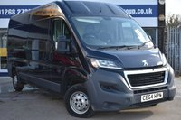 USED 2014 64 PEUGEOT BOXER 2.2 HDI 335 L3H2 PROFESSIONAL P/V 130 BHP NO DEPOSIT FINANCE AVAILABLE