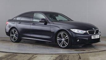 2016 BMW 4 SERIES GRAN COUPE 2.0 420D XDRIVE M SPORT GRAN COUPE 4d 188 BHP £18290.00
