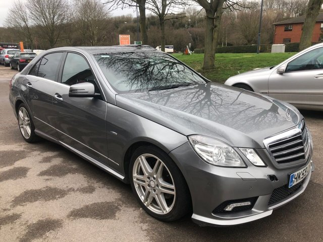 USED 2009 59 MERCEDES-BENZ E CLASS 2.1 E250 CDI BLUEEFFICIENCY SPORT 4d 204 BHP SERVICE HISTORY, ALLOY WHEELS, LEATHER INTERIOR, CRUISE CONTROL, CLIMATE CONTROL