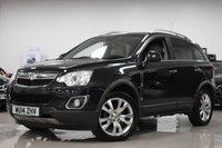 2014 VAUXHALL ANTARA 2.2L SE NAV CDTI 5d AUTO 181 BHP £8495.00
