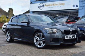 2012 BMW 1 SERIES 2.0 118D M SPORT 3d 141 BHP £7999.00