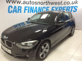 2014 BMW 1 SERIES 1.6 116I SPORT 5d 135 BHP £9000.00