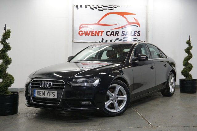 USED 2014 14 AUDI A4 2.0 TDI SE TECHNIK 4d 134 BHP SUPERB DRIVE, GREAT SPEC