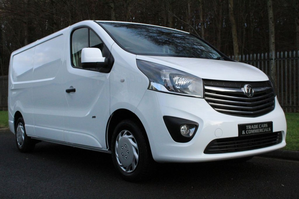 USED 2017 67 VAUXHALL VIVARO 1.6 L2H1 2900 SPORTIVE CDTI 120 BHP A CLEAN ONE COMPANY OWNER VIVARO WITH HIGH SPECIFICATION!!!