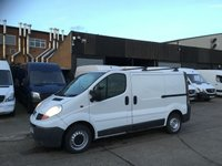 USED 2007 57 RENAULT TRAFIC 2.0 DCI SL27 SWB 115BHP. F/S/H. AIR CON. ROOF-RACK. PX AIR CONDITIONING. INJECTORS REPLACED. PX WELCOME