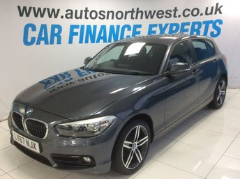 2018 BMW 1 SERIES 1.5 116D SPORT 5d 114 BHP £14000.00