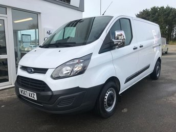 2017 FORD TRANSIT CUSTOM