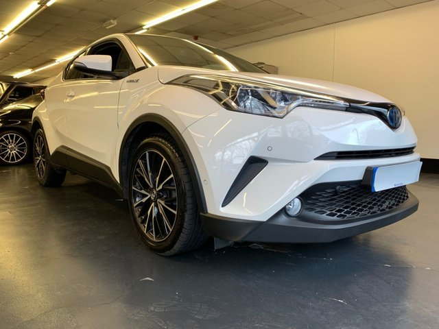 USED 2017 66 TOYOTA CHR 1.8 EXCEL 5d 122 BHP FULL TOYOTA SERVICE HISTORY, FULLY LOADED, £0 ROAD TAX!