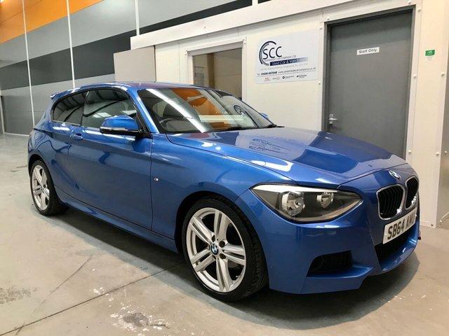 2014 64 BMW 1 SERIES 2.0 116D M SPORT 3d 114 BHP