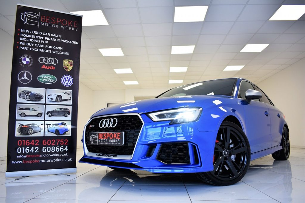 USED 2018 68 AUDI RS3 SALOON 2.5 QUATTRO S-TRONIC