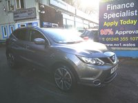 2016 NISSAN QASHQAI 1.5 DCI TEKNA 5d 108 BHP, only 8000 miles, Full Leather, Sat Nav, One Owner £14995.00