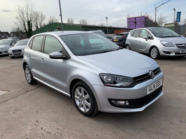 USED 2014 14 VOLKSWAGEN POLO 1.2 MATCH EDITION 5d 59 BHP FREE 12 MONTH AA RECOVERY INC