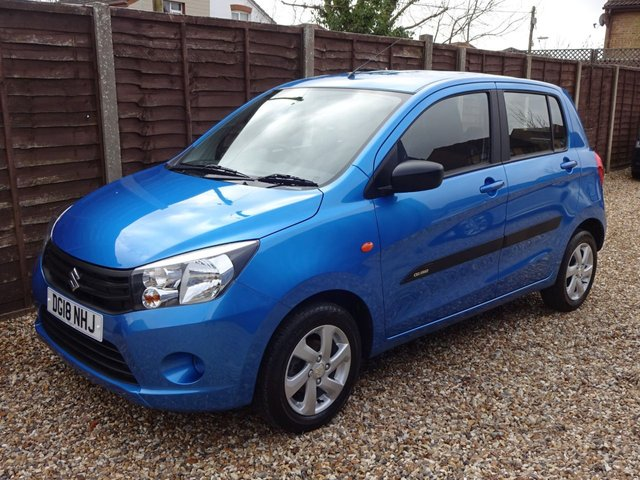 USED 2018 18 SUZUKI CELERIO 1.0 CITY 5DOOR SPECIAL EDITION *LOOK* FULL SERVICE HISTORY, READY TO DRIVE AWAY