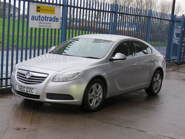 USED 2010 10 VAUXHALL INSIGNIA 2.0 EXCLUSIV CDTI 5dr Cruise Air con Auto lights Finance arranged Part exchange available Open 7 days