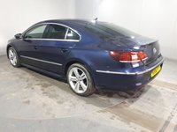 USED 2016 16 VOLKSWAGEN CC 2.0 R LINE TDI BLUEMOTION TECHNOLOGY DSG 4DR AUTO SAT NAV 182 BHP  FULL SERVICE HISTORY + HEATED LEATHER SEATS + SATELLITE NAVIGATION + PARKING SENSOR + BLUETOOTH + CRUISE CONTROL + CLIMATE CONTROL + MULTI FUNCTION WHEEL + XENON HEADLIGHTS + PRIVACY GLASS + DAB RADIO + ELECTRIC WINDOWS + ELECTRIC/HEATED DOOR MIRRORS + 18 INCH ALLOY WHEELS