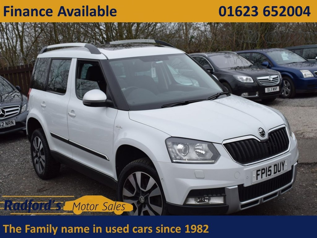 USED 2015 15 SKODA YETI 2.0 OUTDOOR LAURIN AND KLEMENT TDI CR DSG 5d 168 BHP