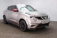USED 2016 16 NISSAN JUKE 1.6 NISMO RS DIG-T 5DR AUTO SAT NAV 211 BHP  SERVICE HISTORY + HALF LEATHER SEATS + SATELLITE NAVIGATION + 360 DEGREE CAMERA + BLUETOOTH + CRUISE CONTROL + CLIMATE CONTROL + MULTI FUNCTION WHEEL + XENON HEADLIGHTS + PRIVACY GLASS + DAB RADIO + ELECTRIC WINDOWS + ELECTRIC/HEATED/FOLDING DOOR MIRRORS + 18 INCH ALLOY WHEELS