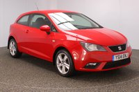 USED 2014 14 SEAT IBIZA 1.4 TOCA 3DR 85 BHP FULL SERVICE HISTORY + AIR CONDITIONING + RADIO/CD/AUX + ELECTRIC WINDOWS + ELECTRIC MIRRORS + 16 INCH ALLOY WHEELS