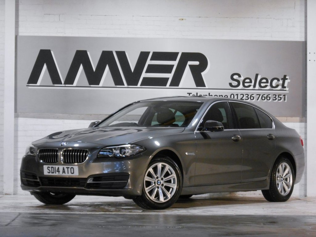 USED 2014 14 BMW 5 SERIES 2.0 520D SE 4d 181 BHP