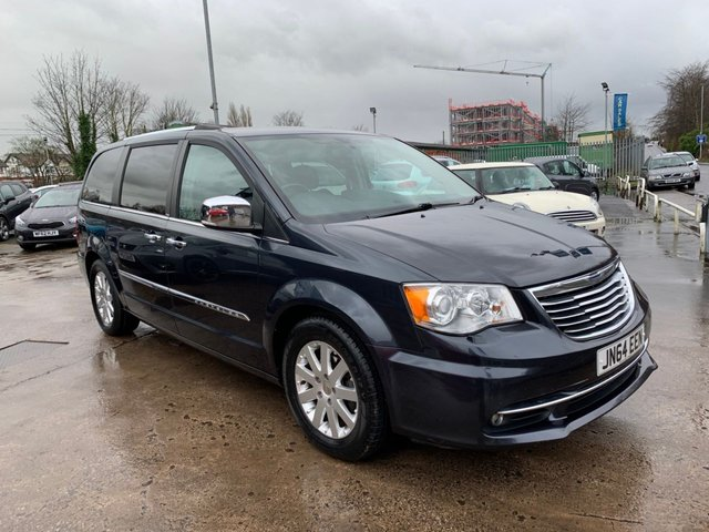 USED 2014 64 CHRYSLER GRAND VOYAGER 2.8 CRD LIMITED 5d 178 BHP ONE OWNER FROM NEW / FULL SERVICE HISTORY