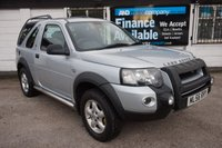 USED 2006 56 LAND ROVER FREELANDER 2.0 TD4 ADVENTURER 3d 110 BHP 8 Service Stamps, Excellent Example, Radio/CD with USB