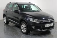 USED 2012 12 VOLKSWAGEN TIGUAN 2.0 SE TDI BLUEMOTION TECHNOLOGY 4MOTION 5d 138 BHP 2 OWNERS with 4 Stamp SERVICE HISTORY