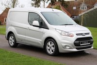 USED 2015 65 FORD TRANSIT CONNECT 1.6 200 LIMITED P/V 114 BHP SAT NAV + REVERSE CAM + WARRANTY INCLUDED - 12 MONTH MOT - FULL HISTORY -