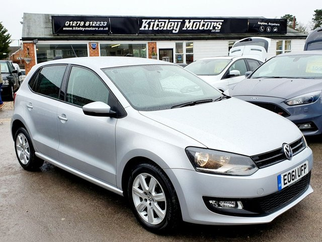 2011 61 VOLKSWAGEN POLO 1.4 MATCH AUTOMATIC