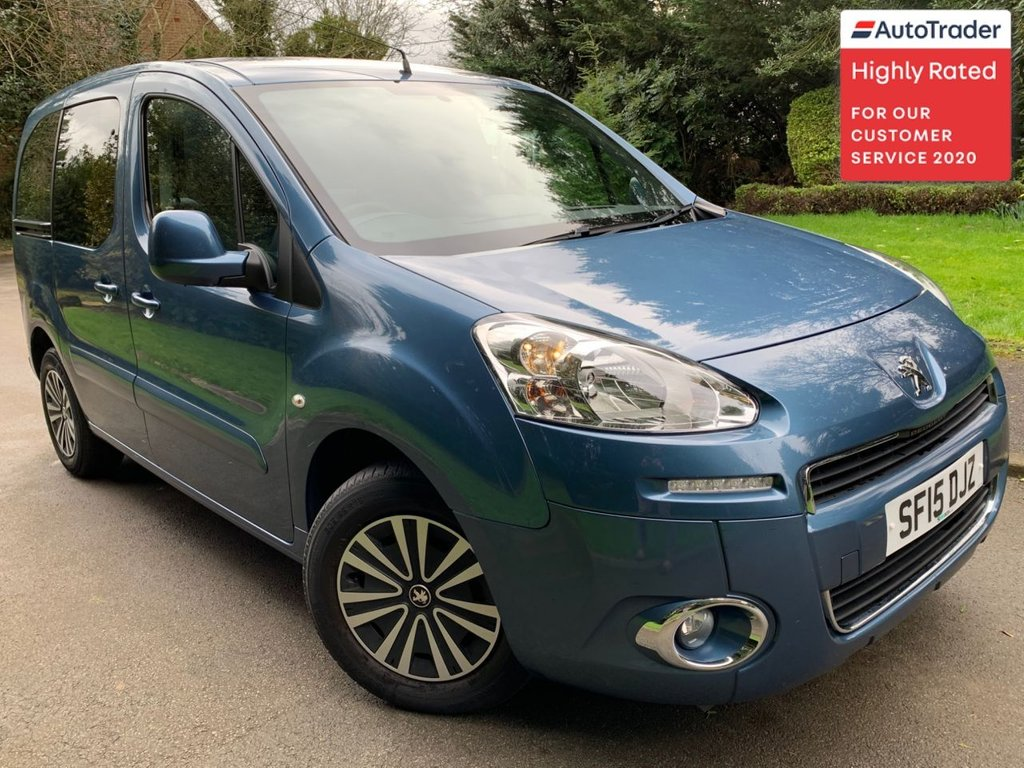 USED 2015 15 PEUGEOT PARTNER 1.6 HDI TEPEE OUTDOOR 5d 92 BHP