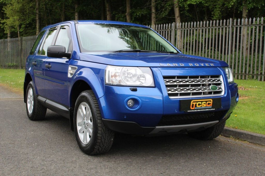 USED 2008 58 LAND ROVER FREELANDER 2 2.2 TD4 SE 5d 159 BHP A STUNNING HIGH SPEC FREELANDER WITH A COMPREHENSIVE SERVICE HISTORY!!!