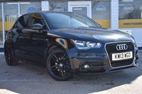 USED 2013 13 AUDI A1 1.6 SPORTBACK TDI S LINE 5d 105 BHP NO DEPOSIT FINANCE AVAILABLE