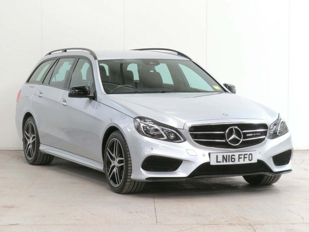 USED 2016 16 MERCEDES-BENZ E-CLASS 2.1 E220 CDI BlueTEC AMG Night Edition 7G-Tronic Plus 5dr **FULL HISTORY **HOME-DELIVERY