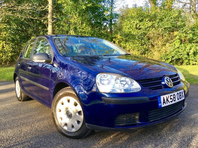 2008 58 VOLKSWAGEN GOLF 1.4 S 5d 79 BHP ONLY 60,000 / 10 AIRBAGS / X11 SERVICING STAMPS