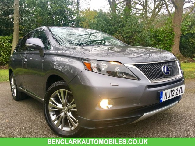 2012 12 LEXUS RX 3.5 450H ADVANCE HYBRID /PAN ROOF 5d AUTO 295 BHP ONLY 40,000 MILES / NO ULEZ CHARGE/ FULL LEXUS SERVICE HISTORY/PANORAMIC SUNROOF/FULL LEATHER