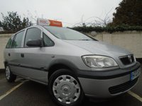 2003 VAUXHALL ZAFIRA 1.6 CLUB 16V 5d 99 BHP *NEW CAMBELT KIT JUST FITTED* £999.00
